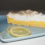 Tarte au citron – Francouzský citronový koláč