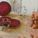 Sušenky z červené řepy a semínek