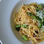 Chřestové špagety – snadné a rychlé