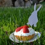 Jarní tartaletky s jahodami a mascarpone