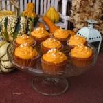 Podzimní dýňové cupcaky
