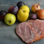 Uzené maso s netradiční bramborovou kaší