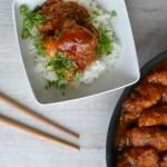 Asijské kuře v pikantním těstíčku