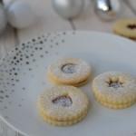 Klasické vánoční cukroví: Křehké linecké