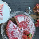 Jahodový dort Fraisier podle časopisu Gurmet