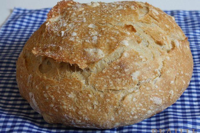 Chléb bez hnětení. Recept, který se ztratil.