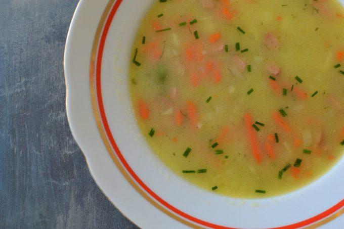 Rychlý recept? Letní cuketová polévka